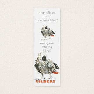 bird, bird (1), munginditradingcards, west afic... mini business card