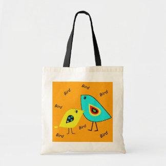 Bird Bird Orange Bag