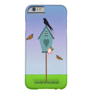 Bird & Birdhouse Barely There iPhone 6 Case