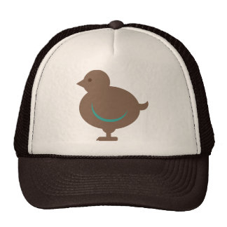Bird Birds Chick Chicken Cute Cartoon Animal Mesh Hats