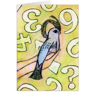 Bird Blank Notecard