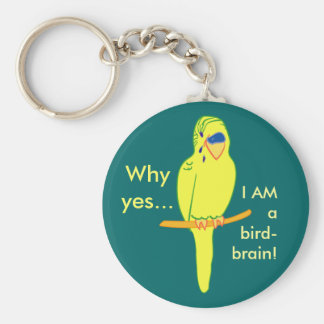 Bird-brain Keychain