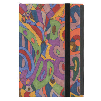 Bird Brain, original abstract Cover For iPad Mini