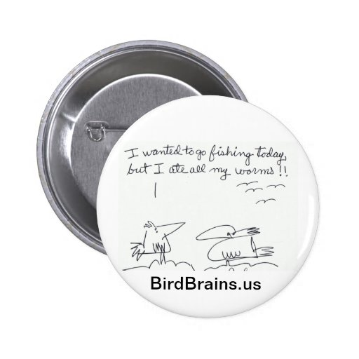 Bird Brains comic series Buttons