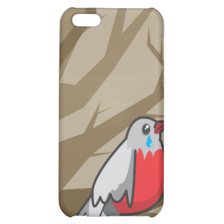 bird_brown iPhone 5C cover