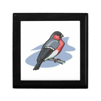Bird Bullfinch Jewelry Box