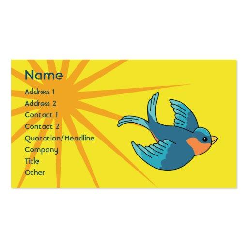 Bird - Business Business Card Templates