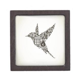 Bird business jewelry box