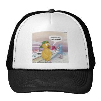 Bird Cafeteria Funny Trucker Hat