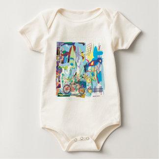 Bird Cage Baby Bodysuit