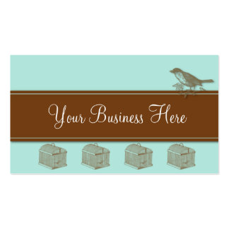 Bird Cage Business Card