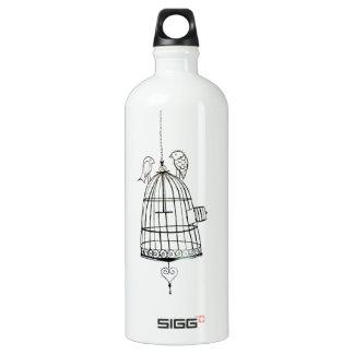 bird cage drawing SIGG traveler 1.0L water bottle