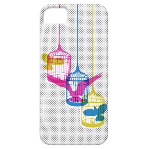 Bird Cage Escape iPhone 5 Cases