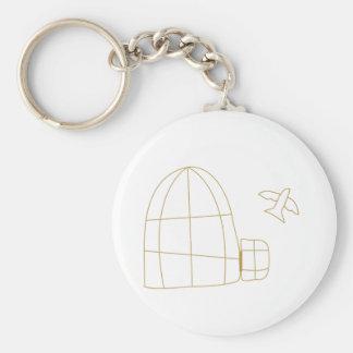 Bird Cage Keychain