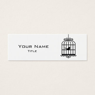 Bird Cage Mini Business Card