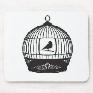 Bird Cage Mouse Pad