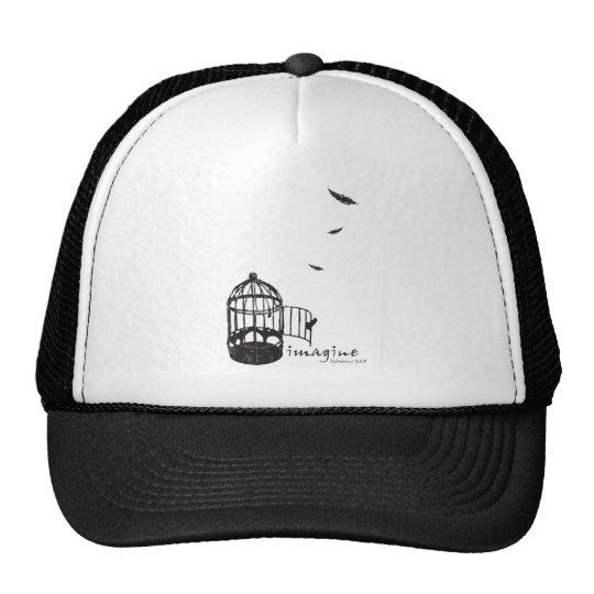 bird cage Tshirt WH icon-06 Trucker Hat