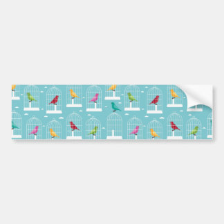 Bird Cages Bumper Sticker
