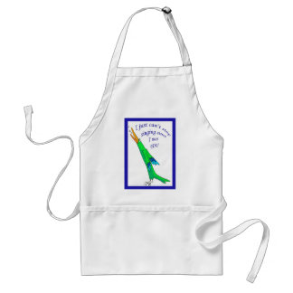 Bird,cant stop singing since I met you Adult Apron