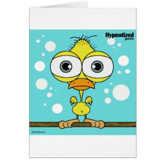 Bird Card, Standard white envelopes included Card