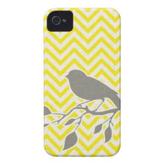 Bird & Chevron iPhone Case iPhone 4 Cases