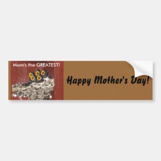 Bird Choir Sings for Mom on Mother's Day Car Bumper Sticker
