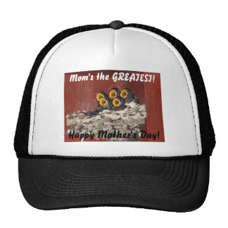 Bird Choir Sings Happy Mother's Day to Mom Trucker Hat
