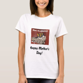Bird Choir Sings Happy Mother's Day to Mom T-Shirt
