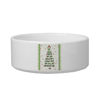 Bird Christmas Tree Bowl