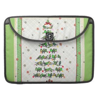 Bird Christmas Tree MacBook Pro Sleeve