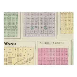 Bird City, Eustis, Voltair, Wano, , Kansas Postcard