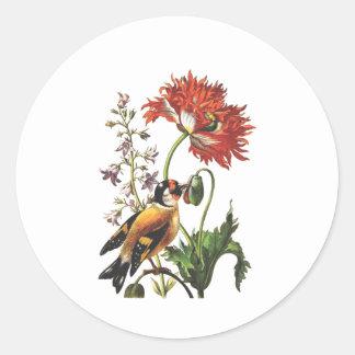 Bird Classic Round Sticker