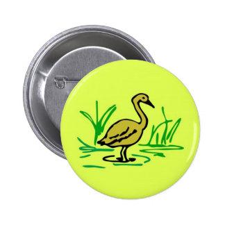 Bird clipart button