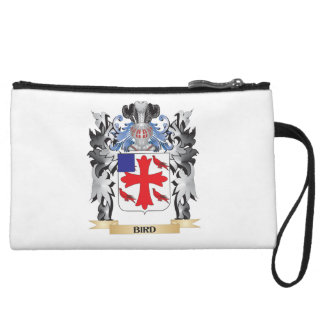 Bird Coat of Arms - Family Crest Wristlet Clutch