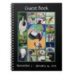 Bird Collage Guest Book Notebook