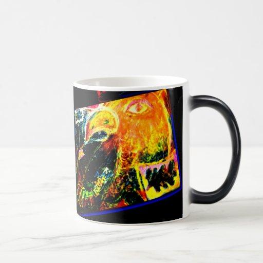 Bird Coraciiformes & Owl Magic Mug