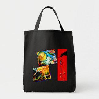 Bird Coraciiformes & Owl Tote Bag