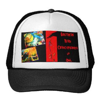 Bird Coraciiformes & Owl Trucker Hat