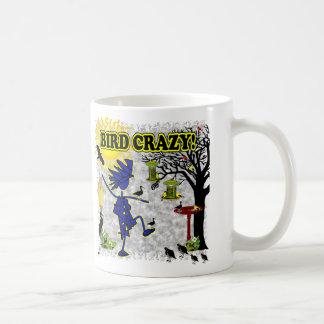 Bird Crazy Clothing Shirt & More Coffee Mug