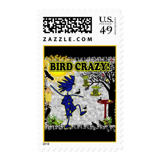 Bird Crazy Stamps