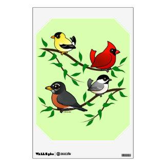 Bird Decal back yard Birdorable example