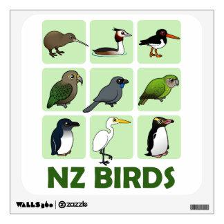 Bird Decal NZ birds example
