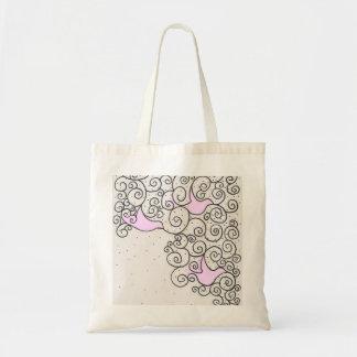 Bird Design tote Bags