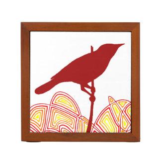 Bird Desk Organizer