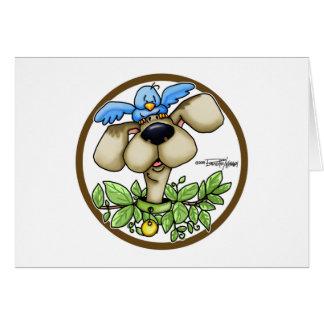 Bird Dog - Circle Card
