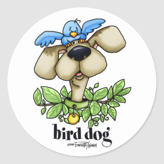 Bird Dog stickers