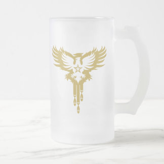Bird Dropping Bombs - Y 16 Oz Frosted Glass Beer Mug