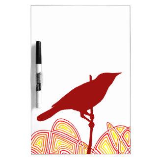 Bird Dry Erase Whiteboard