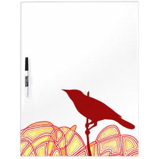 Bird Dry-Erase Whiteboards