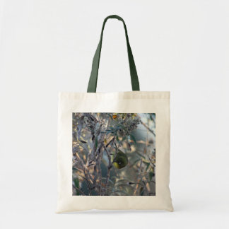 Bird Eating The Sweet Nectar Of Life Tote Bag